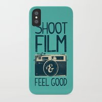 film iPhone & iPod Cases featuring Shoot Film by Victor Vercesi