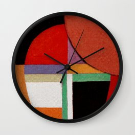 Женщина, яблоко, со змеем (Woman, an apple and the serpent) Wall Clock