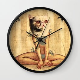 Cat II Wall Clock