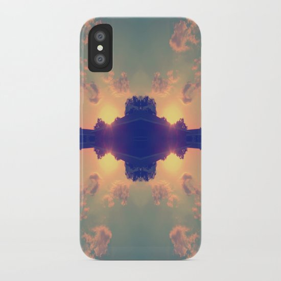 Multiple Sunsets  iPhone Case