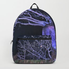Boabs at night Backpack