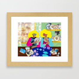 Porcelain Room Framed Art Print