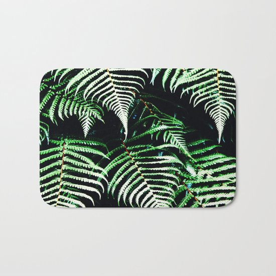 Entranced Ferns #society6 #prints #decor #home Bath Mat