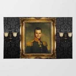Matt Damon - replaceface Rug
