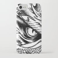 smaug iPhone & iPod Cases featuring Dragon Smaug by BeggaIng