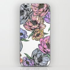 Floating Flowers iPhone Skin