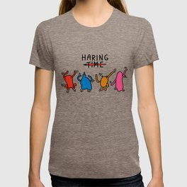 Haring Time2 T-shirt
