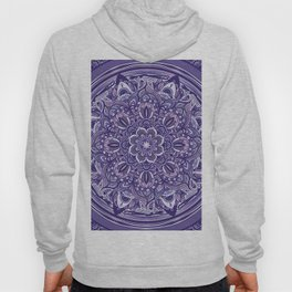 Great Purple Mandala Hoody