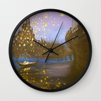 tangled Wall Clocks featuring Tangled by carotoki art and love