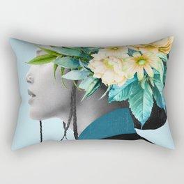 Tropical Girl 6 Rectangular Pillow