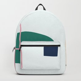 Going to be happy - on white backgroung Backpack