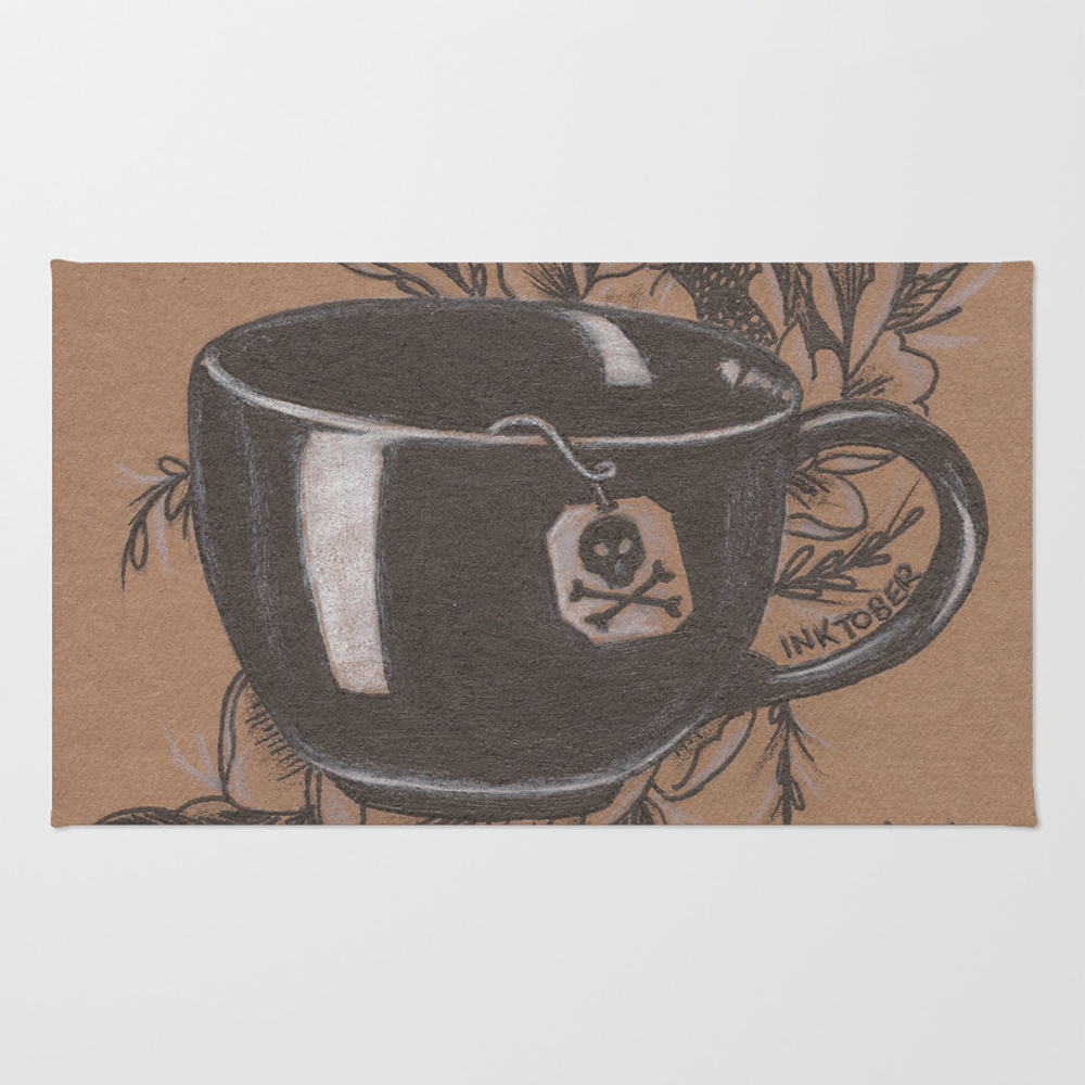 Not Everyone's Cup Of Tea Rug by Jadepowelljones RUG7893902
