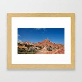 Fairytale Canyon Framed Art Print
