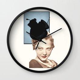 Hat Lady Wall Clock