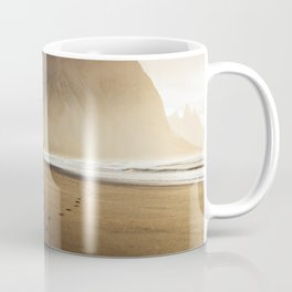 Sunny morning in Iceland Coffee Mug