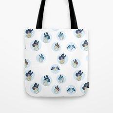 Hampster Butterflies Tote Bag