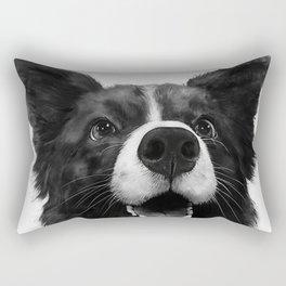 who's a good boy? Rectangular Pillow