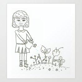 Plants Are Friends Art Print