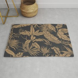 Tropical night heat Rug