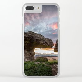 The Bunnet Stane Fife Scotland Clear iPhone Case