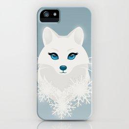 Arctic Fox Princess iPhone Case