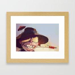 Borderlands - SHADE Framed Art Print