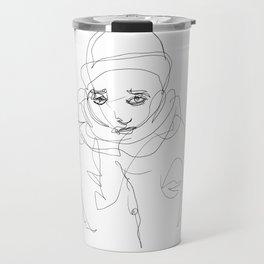 Winter Portrait #1 Travel Mug