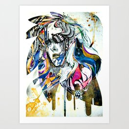 Reminiscence II - Minjae Lee - Grenomj Art Print