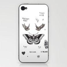 Tattoo à la Harry iPhone & iPod Skin