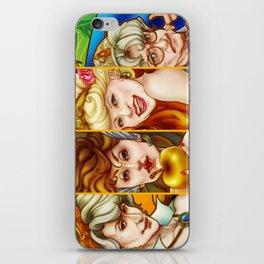 The Golden Goddesses  iPhone Skin