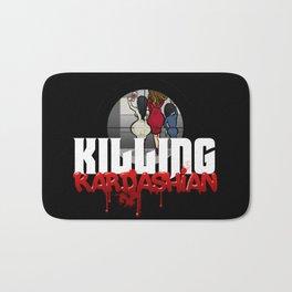 Killing Kardashian Sniper Logo Bath Mat