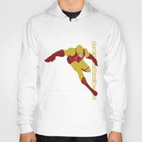 daredevil Hoodies featuring Daredevil by Young Jake