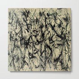 Pollock Patten Metal Print