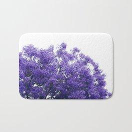 Purple Jacaranda II Bath Mat