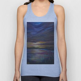 out of darkness comes light Unisex Tank Top