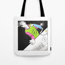 Ability to punch people through phones Tote Bag