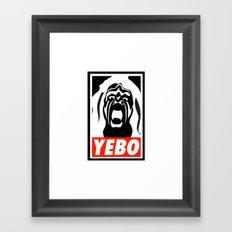 YEBO-UWS Framed Art Print