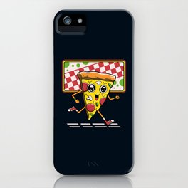 Pizza Run iPhone Case