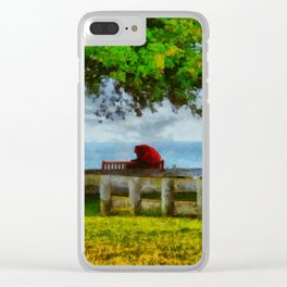 Bembridge Rain Clear iPhone Case