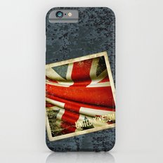 Sticker with UK flag iPhone 6s Slim Case