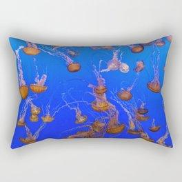 For displaying jellyfish The Monterey Bay Aquarium uses a Kreisel tank which creates a circular flow Rectangular Pillow