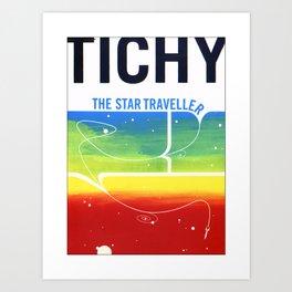The Star Traveller Art Print
