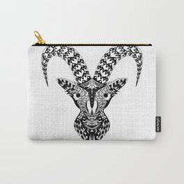 Black Goat Carry-All Pouch