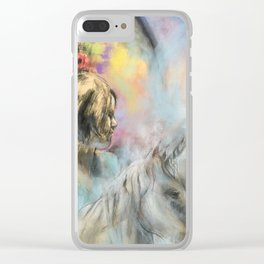 The Unicorn Clear iPhone Case