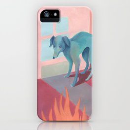 Fear of fire iPhone Case