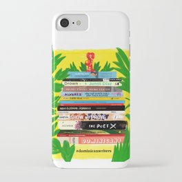 Dominican Writers iPhone Case