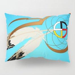 dreamcatcher blue Pillow Sham