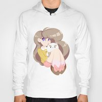 puppycat Hoodies featuring 2 cute 2 poot by Artfully Elyse