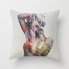 Wilderness Heart I Throw Pillow
