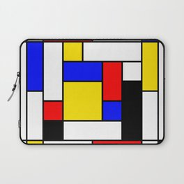 Mondrian Geometric Art 2 Laptop Sleeve